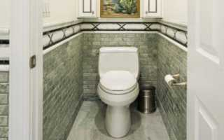 Какая плитка лучше для туалета