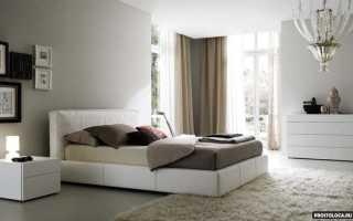 Выделить кровать в спальне