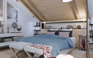 Мансарда с двумя спальнями