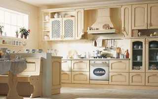 Кухня цвета крем брюле