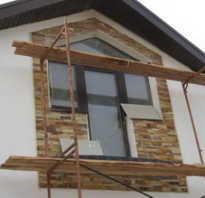 Недорогая фасадная отделка дома