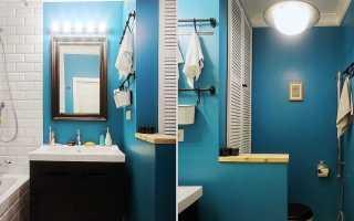 Ванная комната под покраску