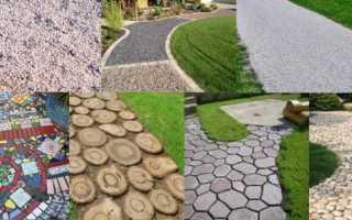 Укладка плитки на садовые дорожки своими руками