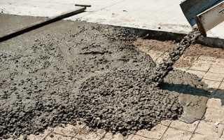 Раствор для заливки бетонного пола