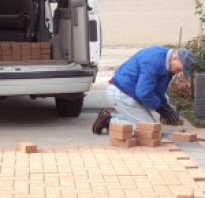 Мучка для укладки тротуарной плитки