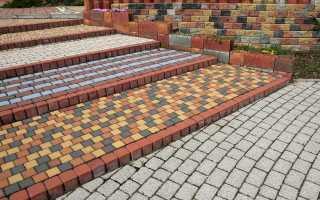Ширина тротуарной плитки