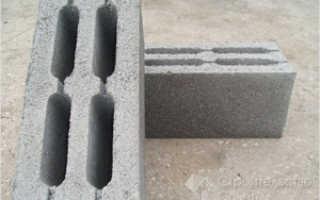 Фундамент под баню из керамзитобетонных блоков