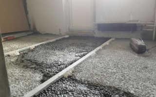 Сколько сохнет стяжка из пескобетона и керамзита