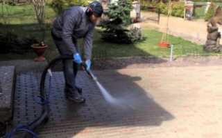Средство для мытья тротуарной плитки