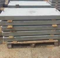 Плиты мощения бетонные