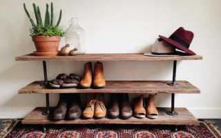 Прихожая хранение обуви