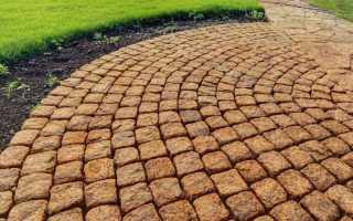 Укладка гранитной тротуарной плитки