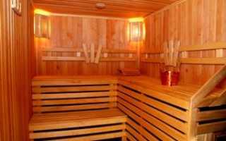 Правильная отделка бани