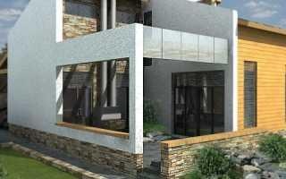 Частный дом из железобетонных плит