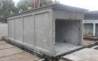 Бетонные плиты для строительства гаража