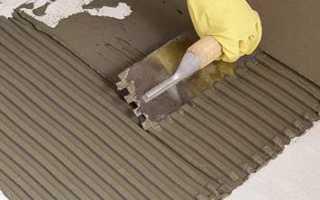 Как приготовить цементный раствор для укладки плитки