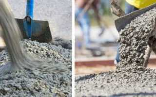 Нормы бетона для фундамента