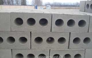 Блоки из цемента и песка
