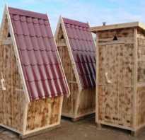 Проект деревянного туалета