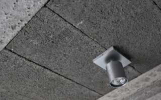 Утеплить бетонный потолок изнутри
