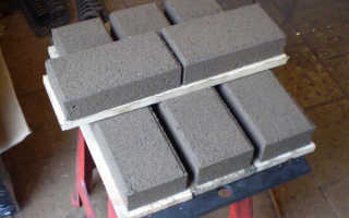 Расход цемента на тротуарную плитку