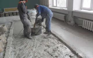 Марки бетона для стяжки пола