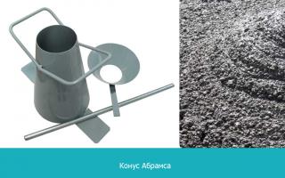 Подвижность бетонной смеси характеризуется бетон пензе
