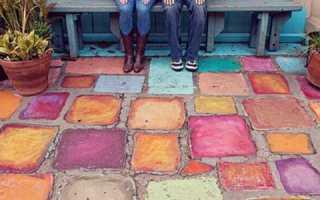 Чем красят бордюры на улице